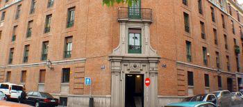 Scuola di Spagnolo a Madrid: L'ingresso della scuola