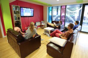 Scuola di Inglese a Edimburgo: McDonald Residence-  soggiorno