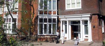 Scuola di Inglese a Canterbury: L'ingresso della scuola di inglese