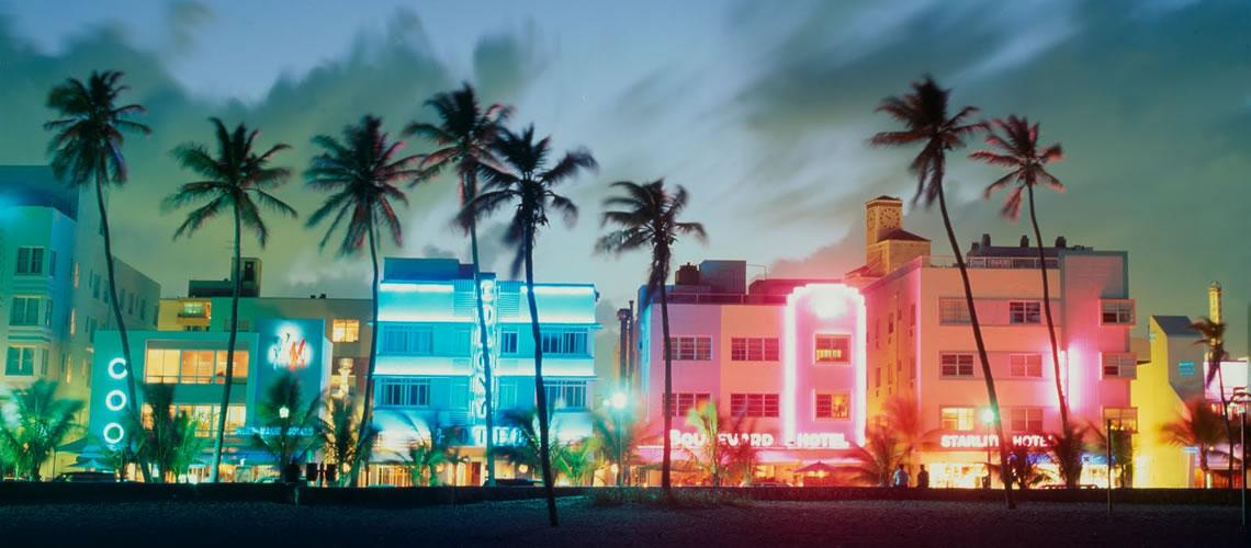 Lo skyline di Miami