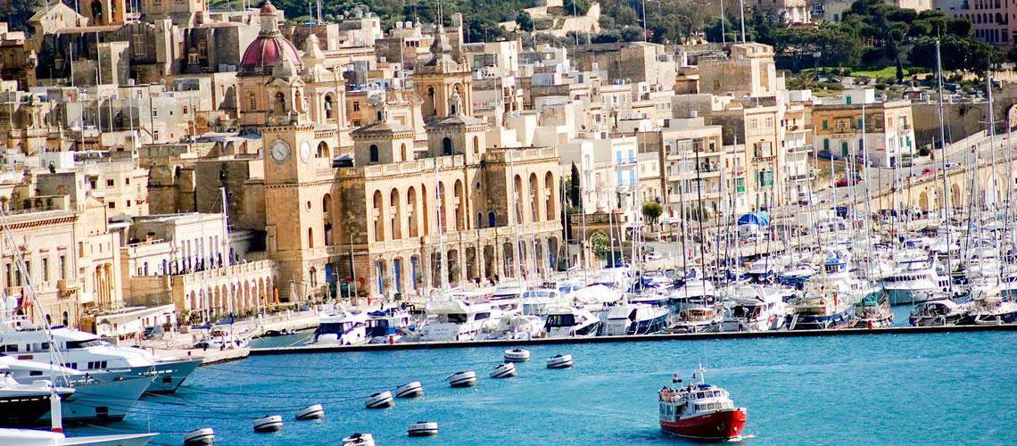 Panorama di La Valletta