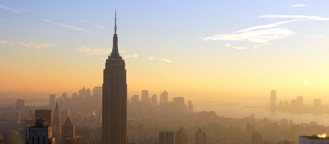 Kaplan international colleges empire state building for Sistemazione new york