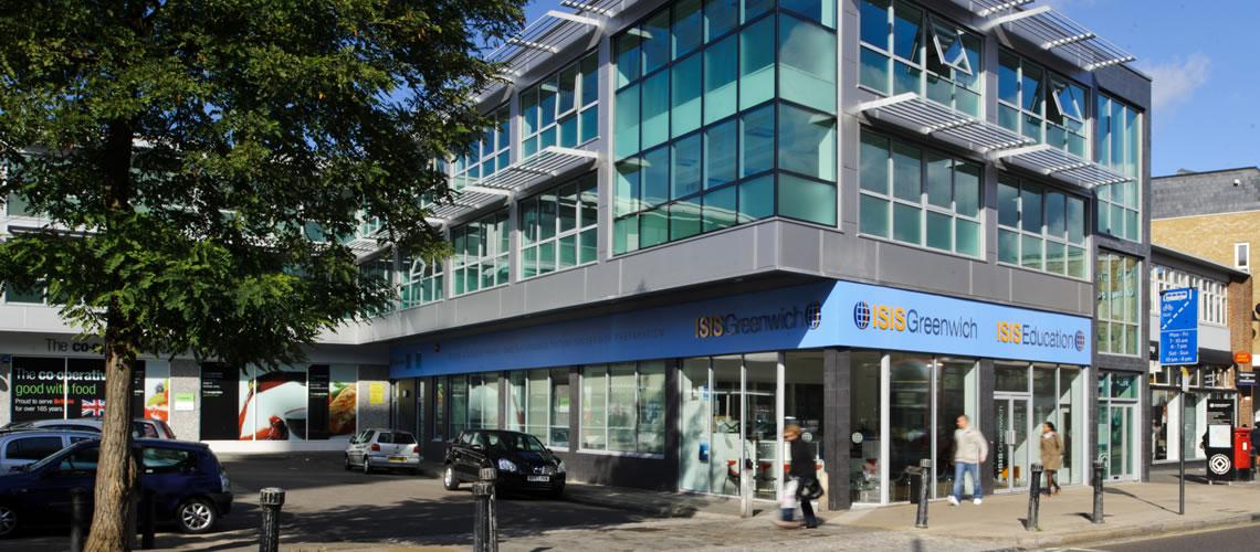 L'edificio che ospita la scuola di inglese