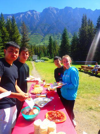 pasti in campeggio