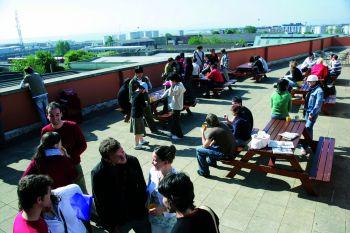 terrazzo scuola