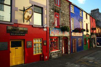 caratteristica strada di Galway