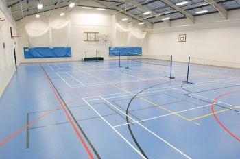 La sport hall
