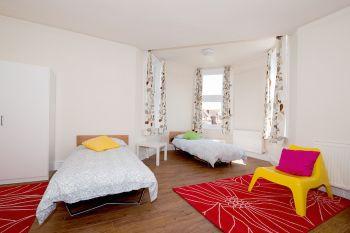 camera in una delle residenze