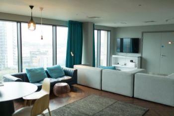Residence Urbanest king's Cross - living room