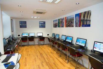 Aula computer di Leicester Square