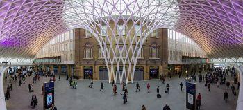 King s cross station vicino alla scuola