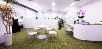Scuola di Giapponese a Tokyo: La reception della scuola