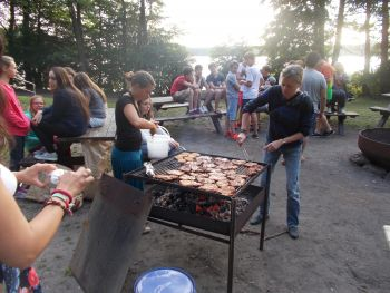 Attivita in campus- barbecue