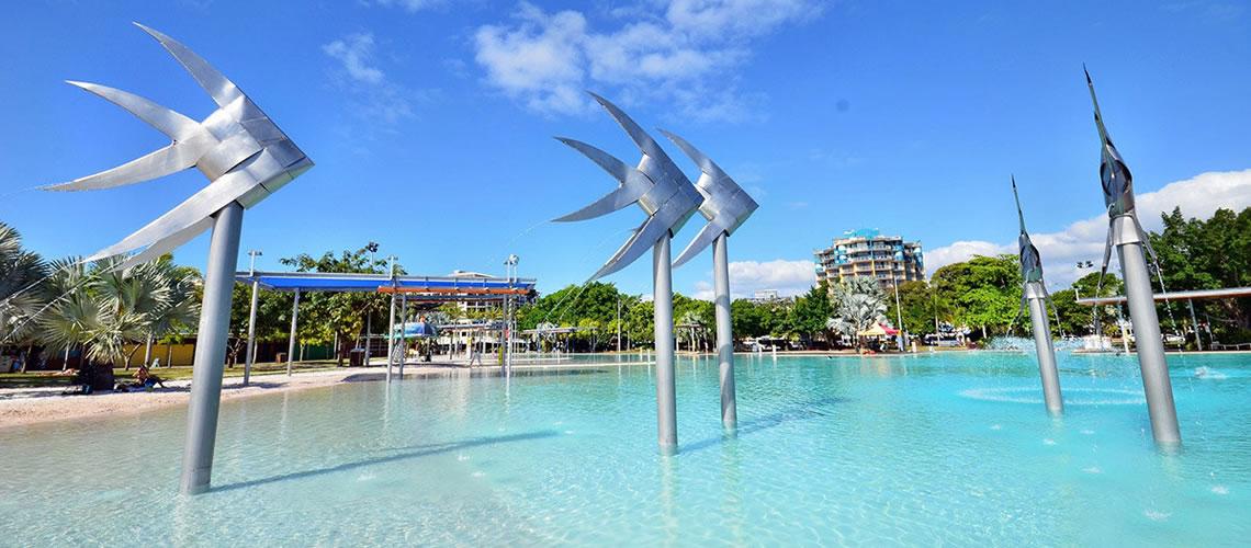 La laguna di Cairns.