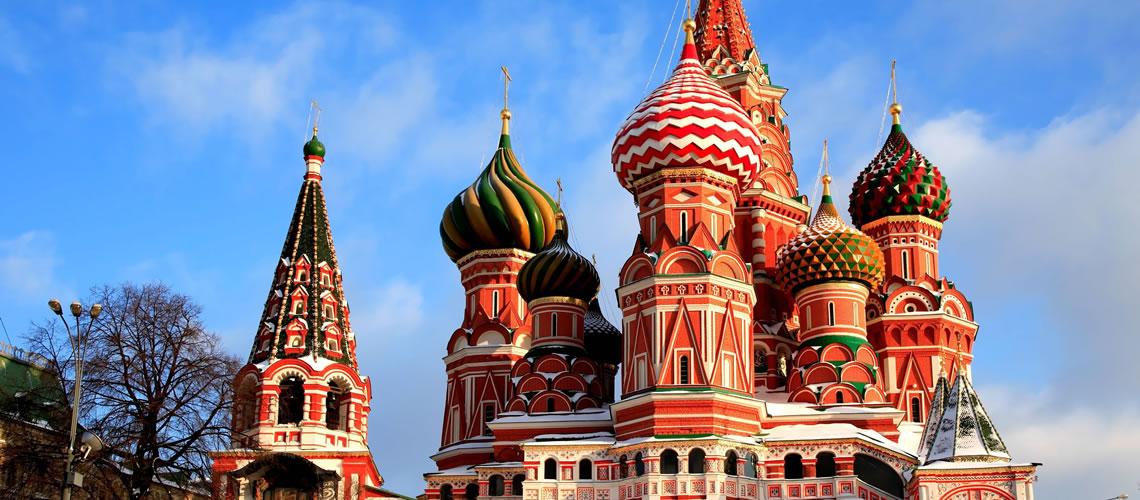 Le cupole del Cremlino.