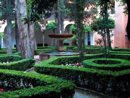 L'Alhambra garden di Granada.